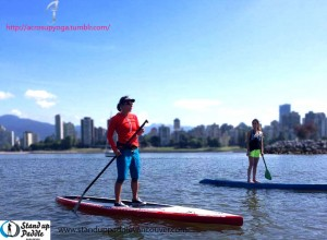 SUP Clinic with Lina Augaitis in Vancouver