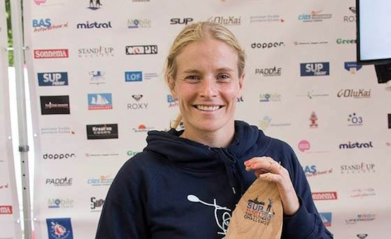 Janneke Smits: SUP11-City Tour 2014 Female Winner