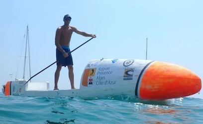Nicolas Jarossay: I want to be the 1st man to cross the Atlantic on a SUP