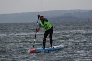 Titouan Puyo et Amandine Chazot Champions de France et les surprises de la Presqu'île Paddle Race