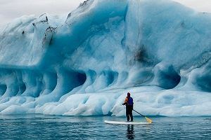 BUCKET LIST: STAND UP PADDLE IN ALASKA WITH LOCAL PADDLER AMBER WALKER