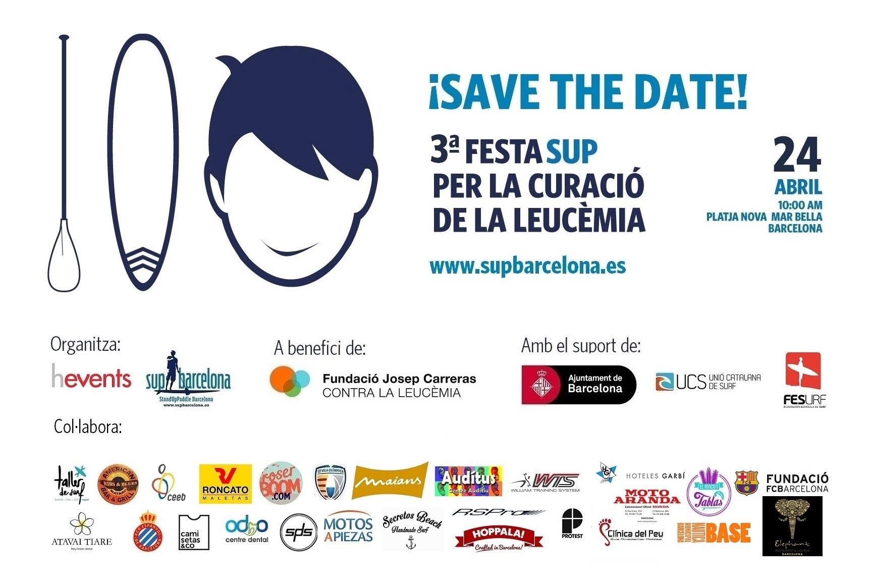 3ª Fiesta SUP para la Curación de la Leucemia