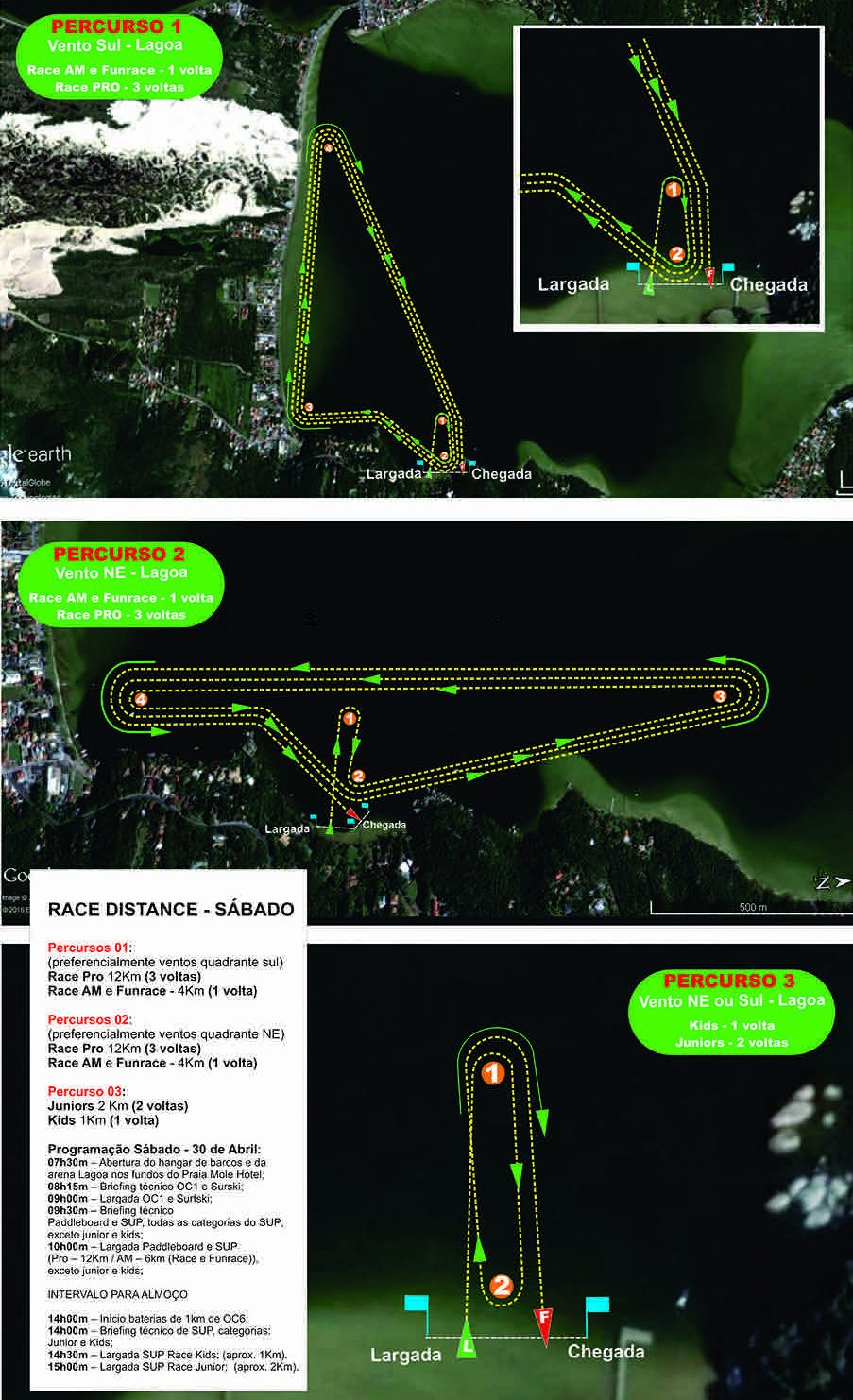 stand up paddle race route brasil floriapa