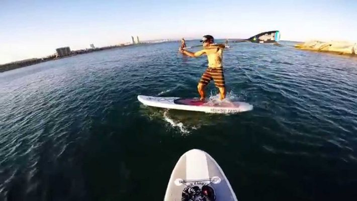 Aloha Barcelona: Urban SUP sessions with friends