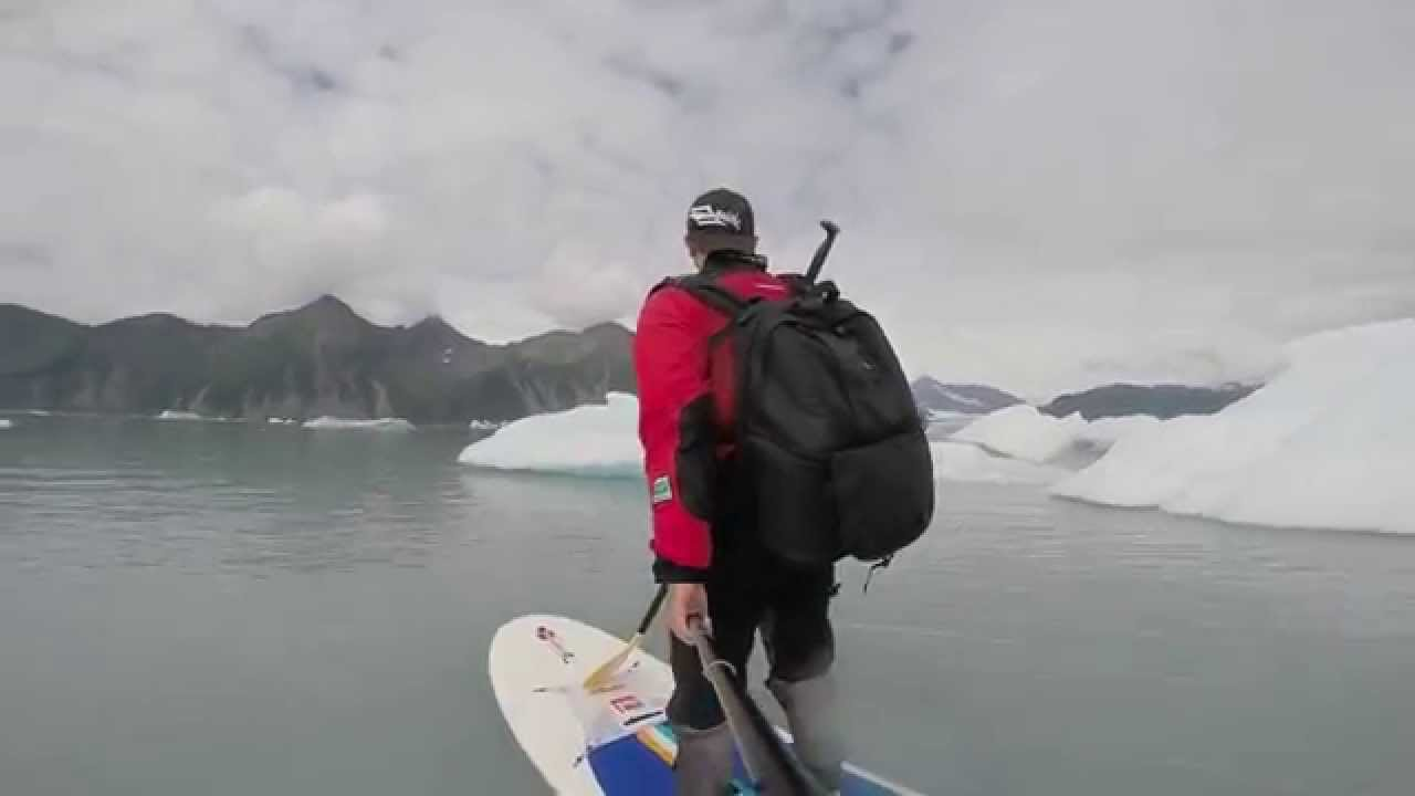 An Alaska Stand Up Paddle ride