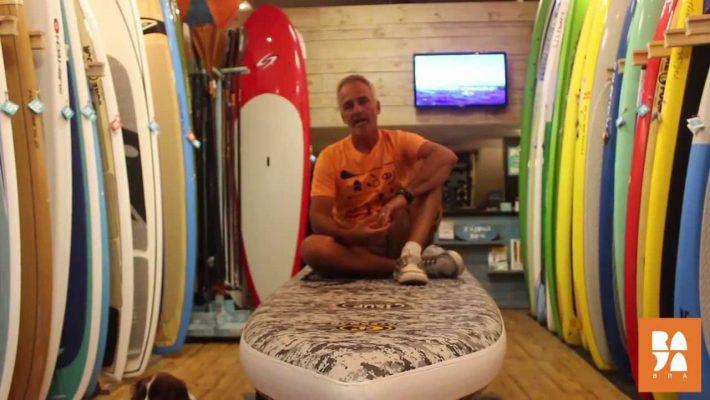 C4 Waterman inflatable board