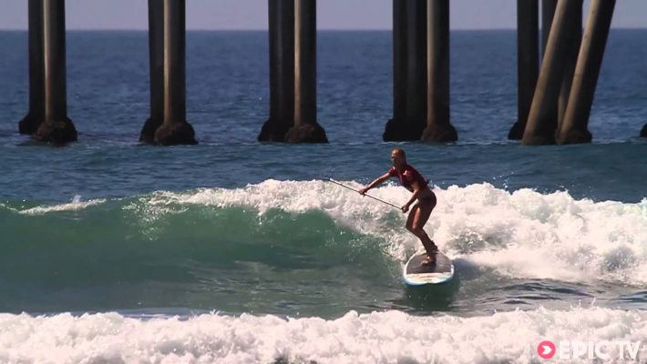 Candice Appleby at Huntington Beach