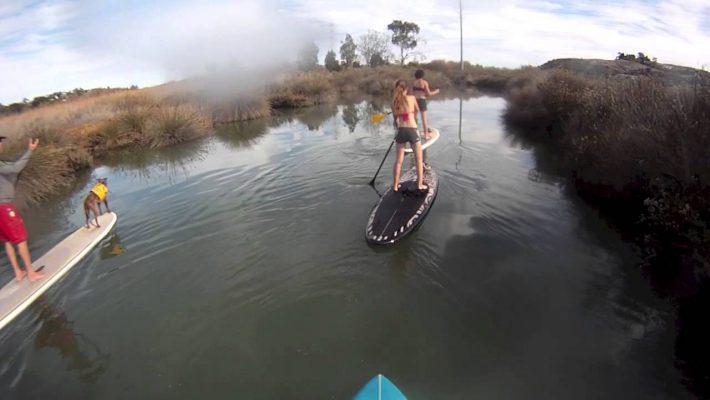 Carlsbad Lagoon SUP trip