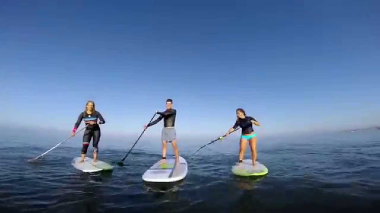 First SUP surf timers in SoCal by Boardworks