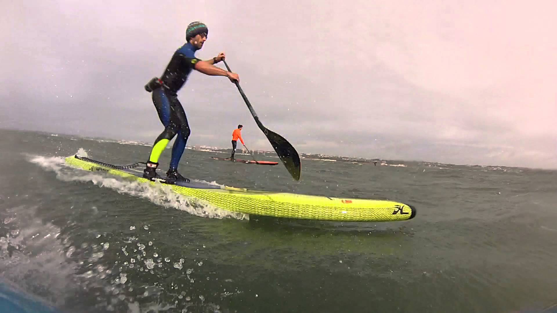 Huge Downwind Week-End in Brittany with Boris Jinvresse and Amandine Chazot