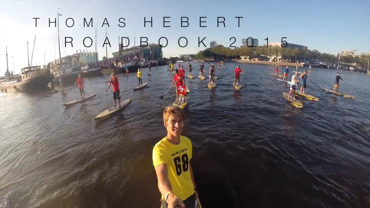 Le Roadbook 2015 de Thomas Hébert en Vidéo