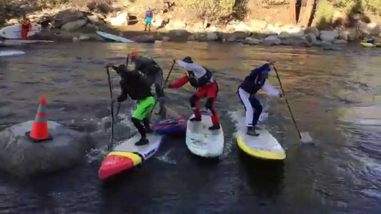 Mike Tavares's Whitewater SUP Cross from CKS Paddlefest 2015