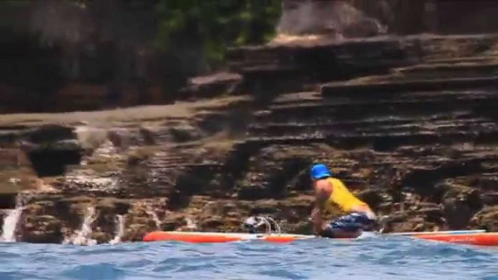"Molokai 2 Oahu: ""That moment when you come round the corner of Portlock"""