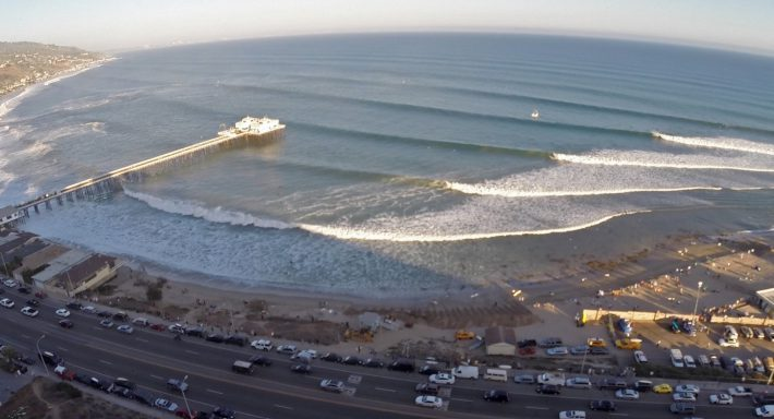 New Video Footage of Laird Hamilton's Shooting the Pier