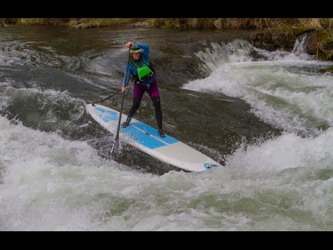 Nikki Gregg on Hood River and Whitewater SUP