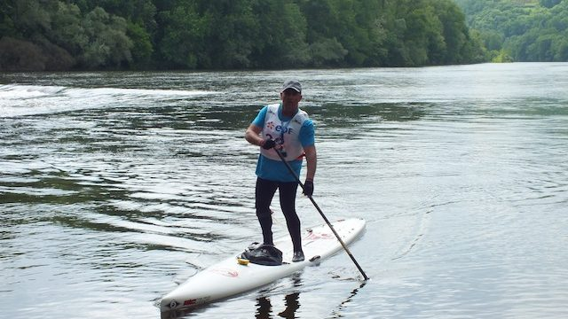 dordogne integrale paddle stand up paddle board boarding river sup