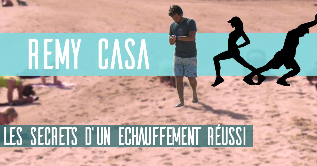 Remy Casa – Les secrets d'un bon échauffement pour le Stand Up Paddle
