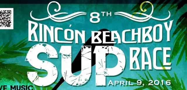 rincon beachboy SUP race