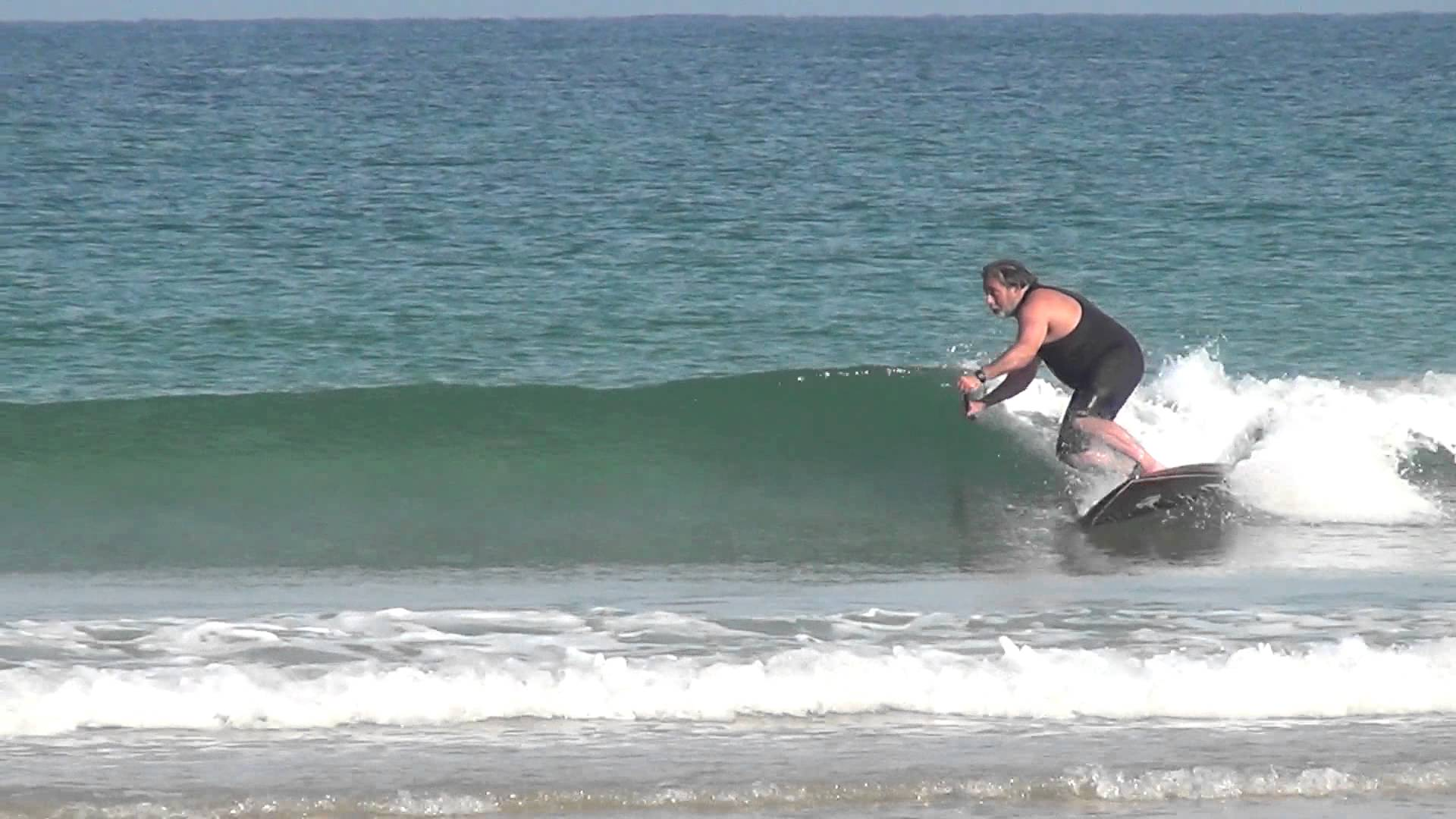 Small Wave Fun in Seignosse, France