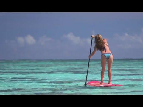 Stand Up Paddling in Tahiti