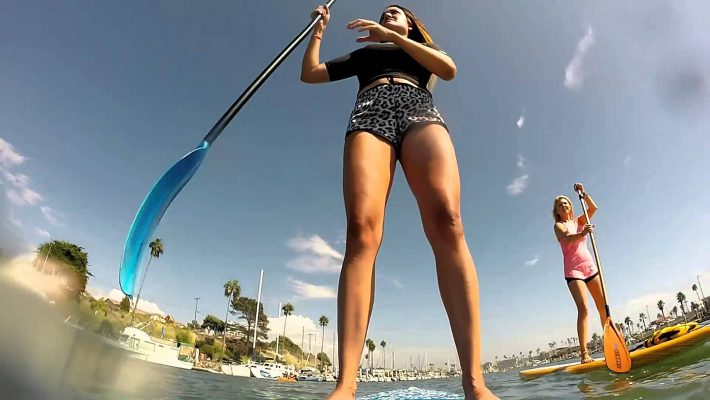 SUP initiation in Oceanside California