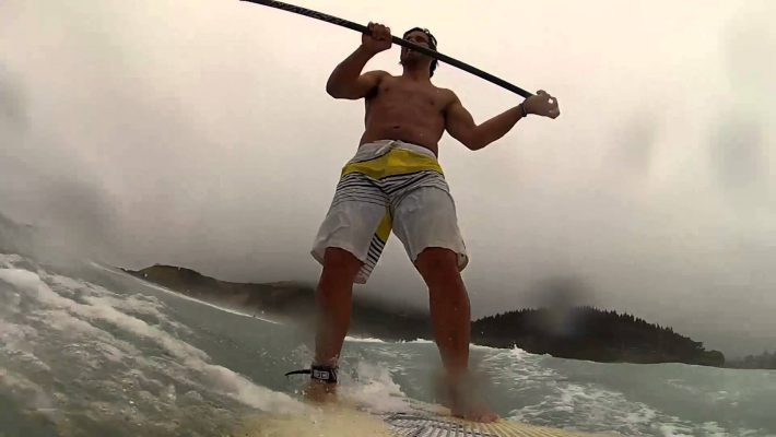 Sup Surfing in New Zealand