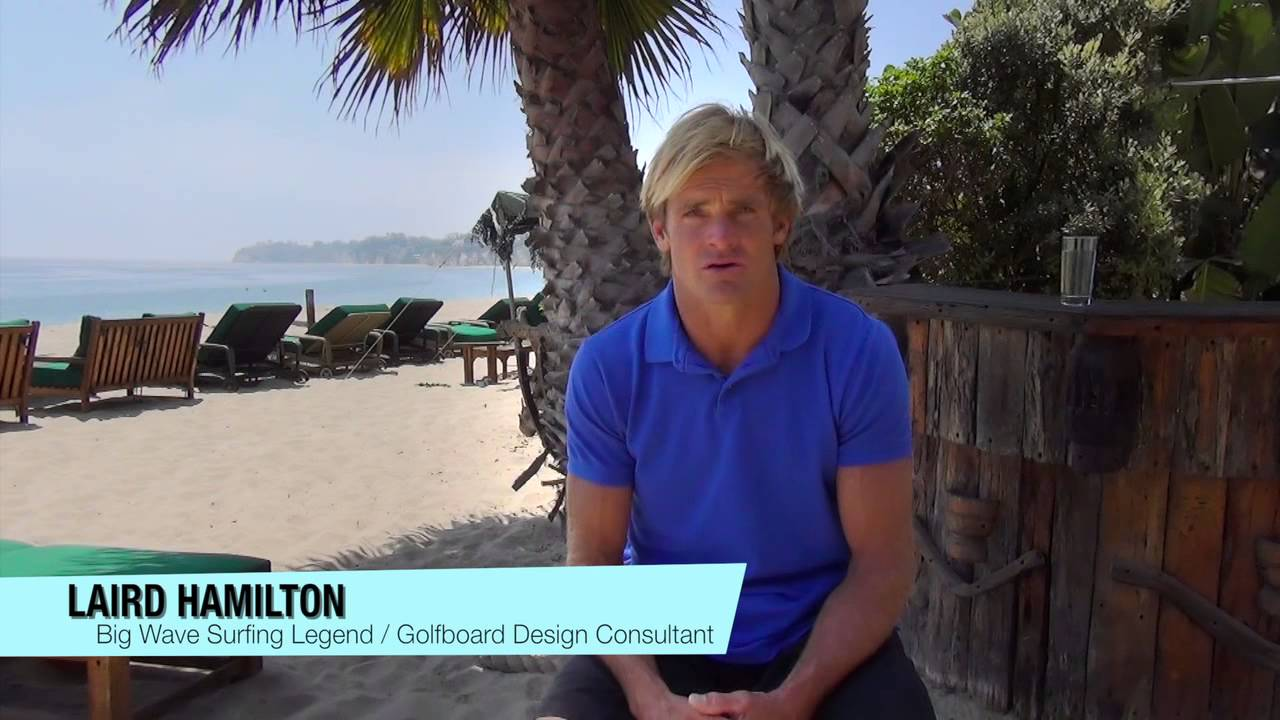 SUP the Turf – Golf Board introduced by Laird Hamilton