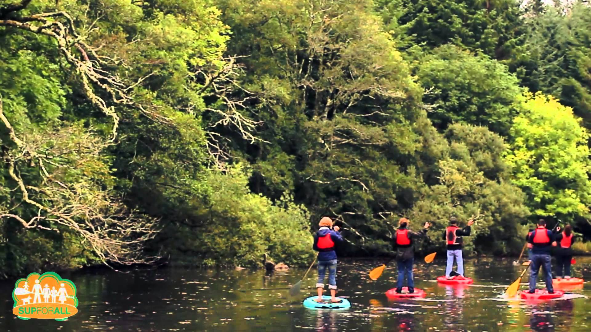 Stand Up Paddling in Ireland with SUP 4 ALL