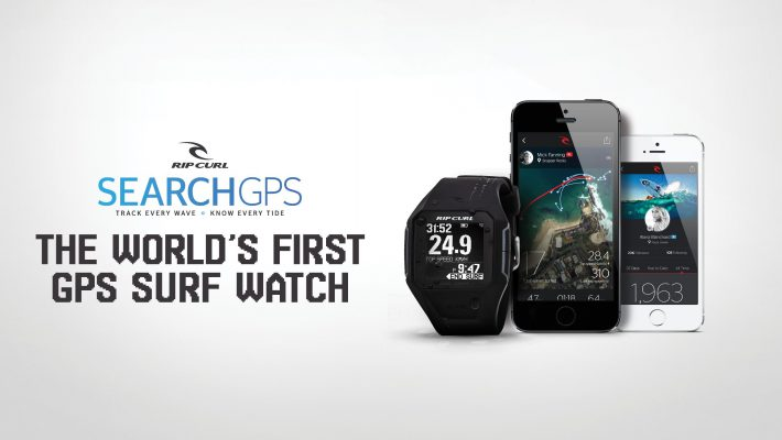 The first Surf GPS watch