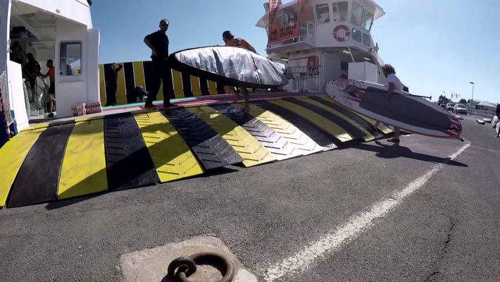 The Fort Boyard Challenge 2016 – SUP racing around the Fort Boyard