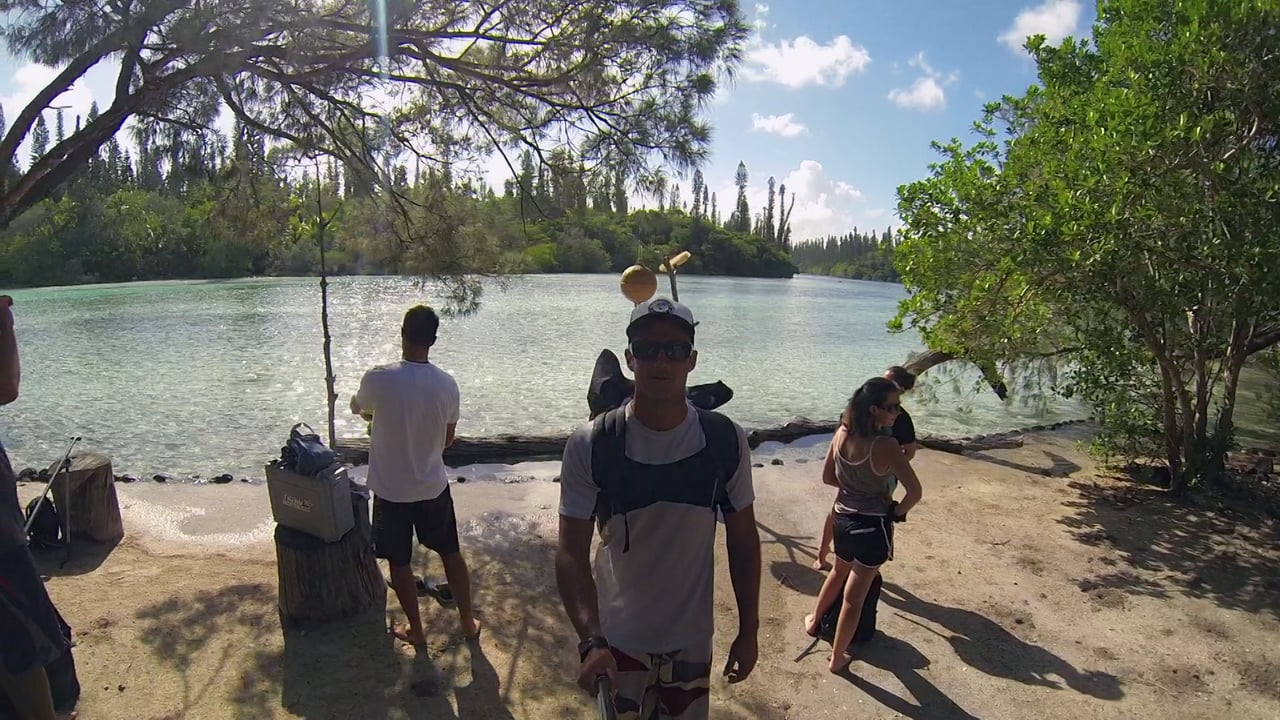 Titouan Puyo in New Caledonia: the Isle of Pines