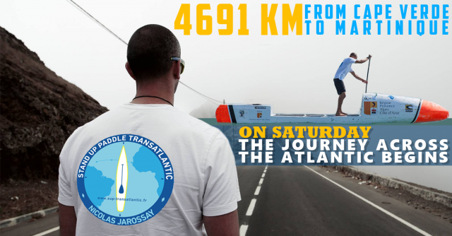 Nicolas Jarossay's Journey Across The Atlantic Will Start This Saturday!