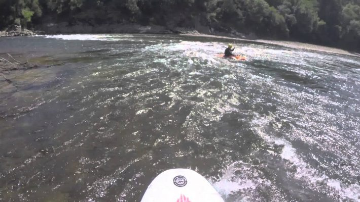 Whitewater SUP in Portugal with Functional Paddling