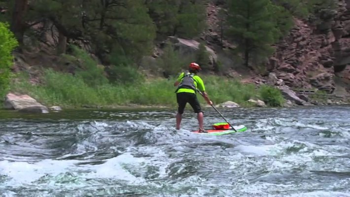 Whitewater SUP in Utah with Dave Scadden