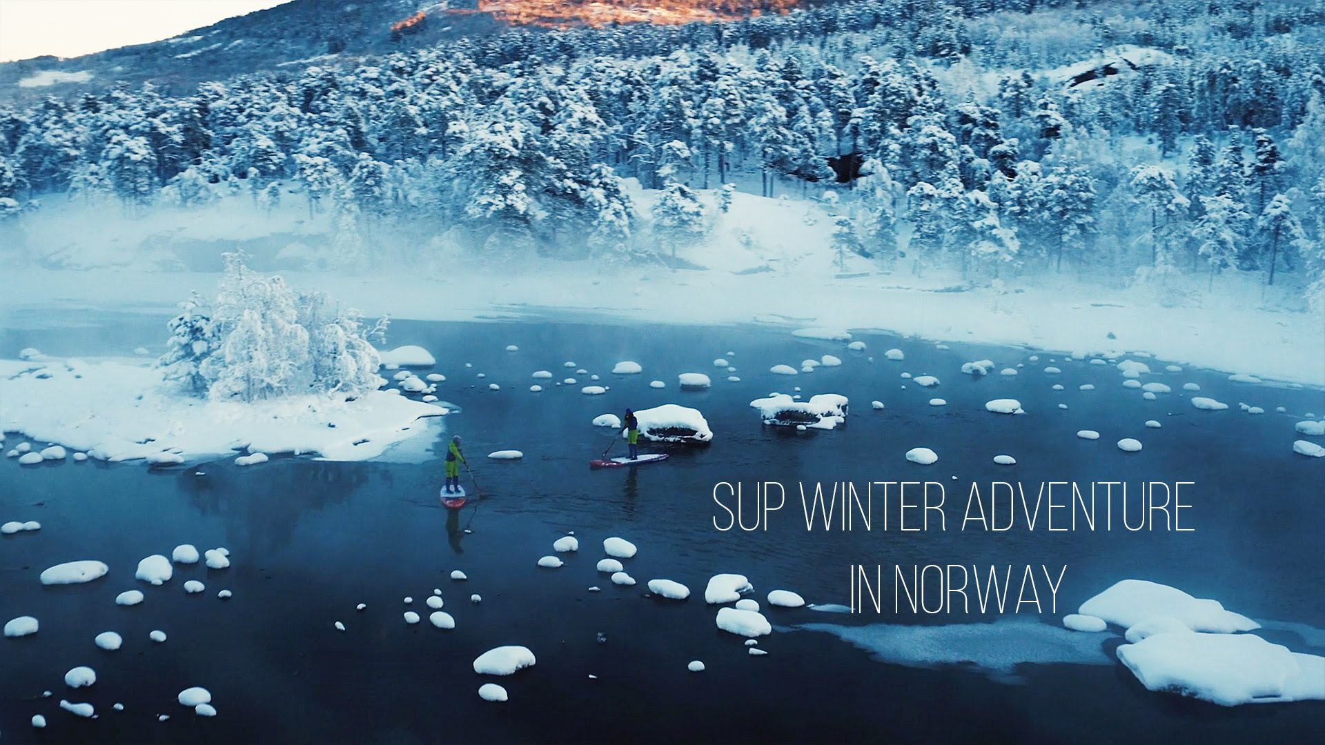 Winter SUP in Norway with Fanatic