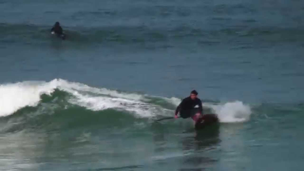 "Xavier Leroy SUP Surfing on a Gong Fatal 6'10"" XTR"