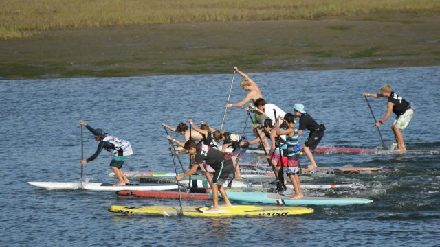 stand up paddle youth fiesta 2016 group