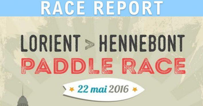 Report sur la Lorient-Hennebont Paddle Race 2016