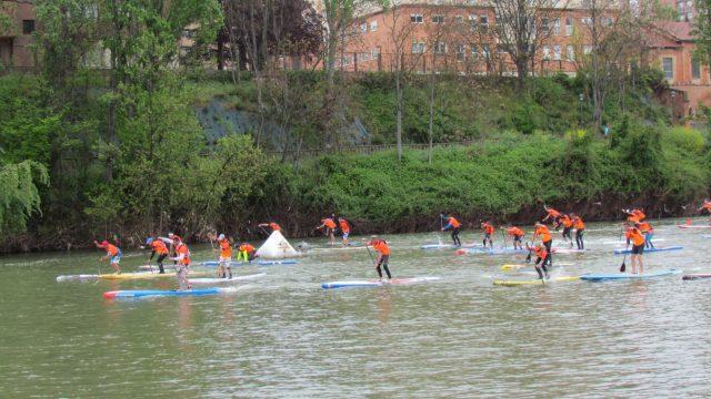 Pisuerga stand up paddle 2016