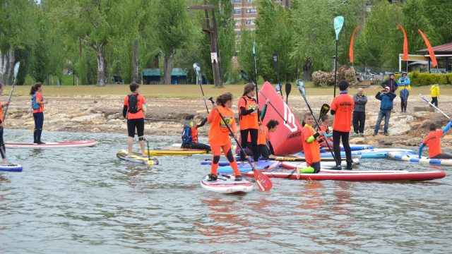Pisuerga stand up paddle 2016 kids