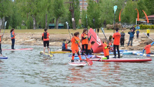 Pisuerga stand up paddle 2016 kids