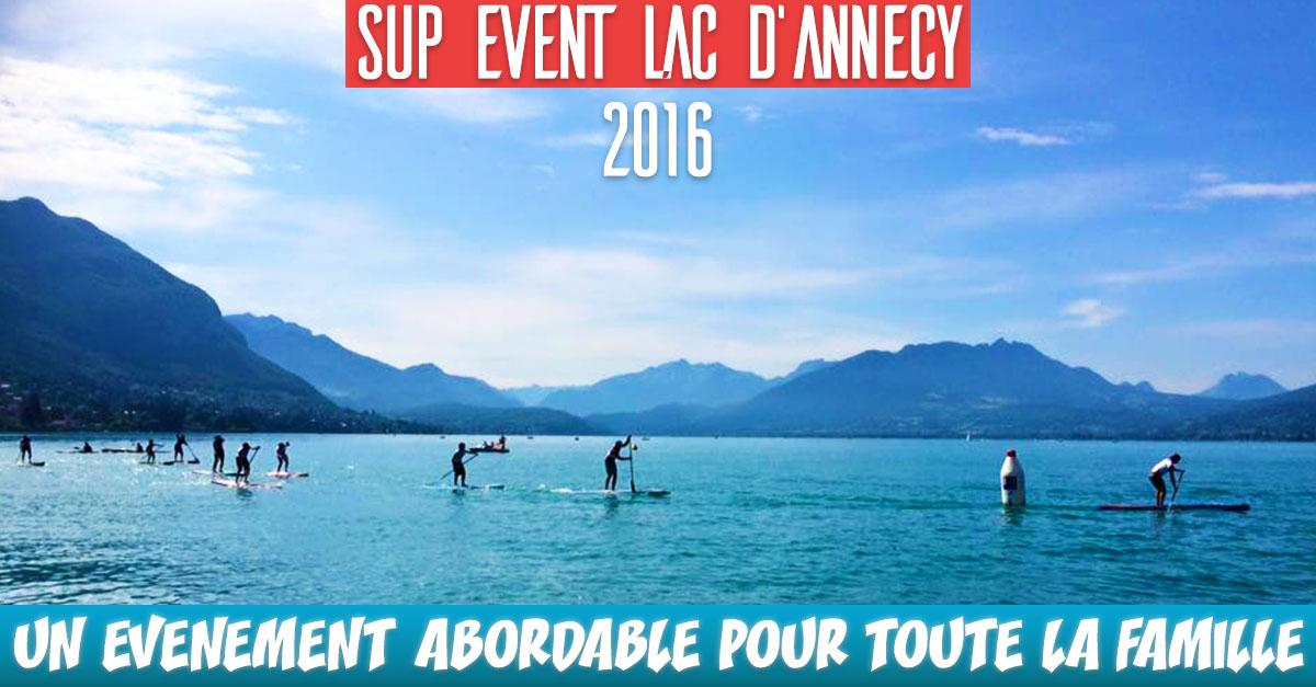 SUP event lac d'Annecy : Un Week-End SUP pour toute la famille