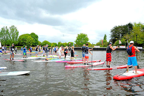 battle of the thames 2016 sup