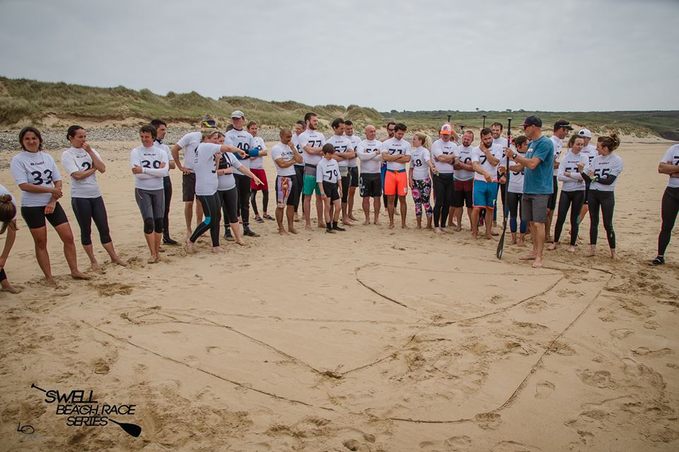 briefing parcours swell beach race series 2016