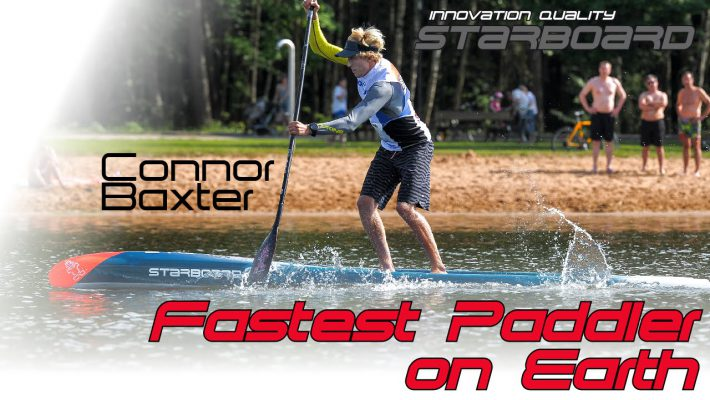 Connor Baxter proves he is the fastest paddler on earth!