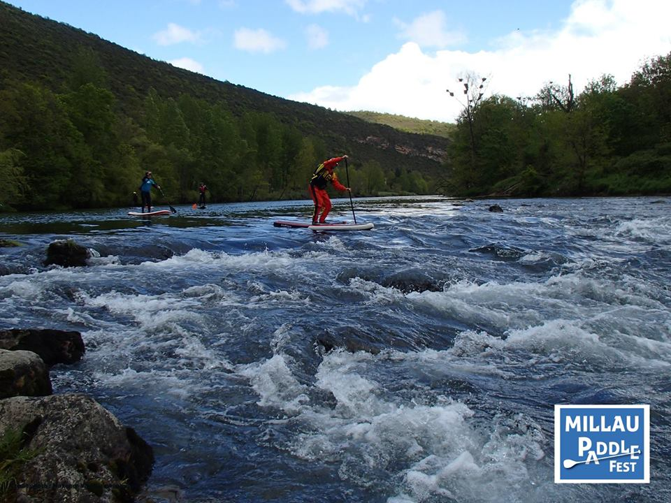 millau paddle fest 2016 whitewater solo