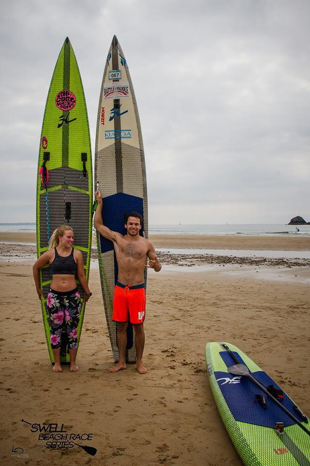 lexi et martin swell beach race series 2016