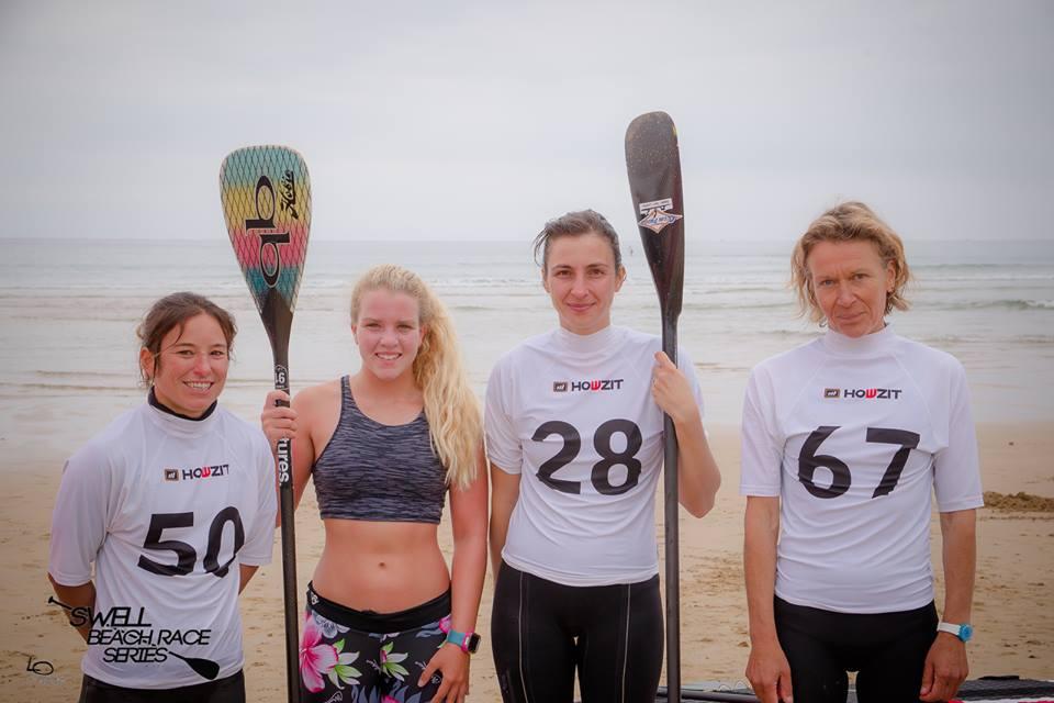 podium femmes swell beach race series 2016