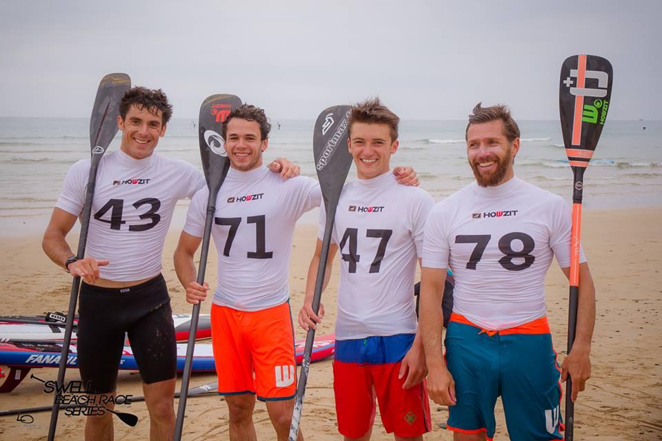 podium hommes swell beach race series 2016