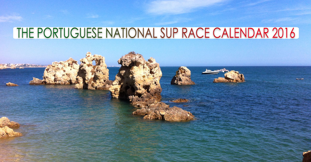 The 2016 Portuguese SUP Race Calendar